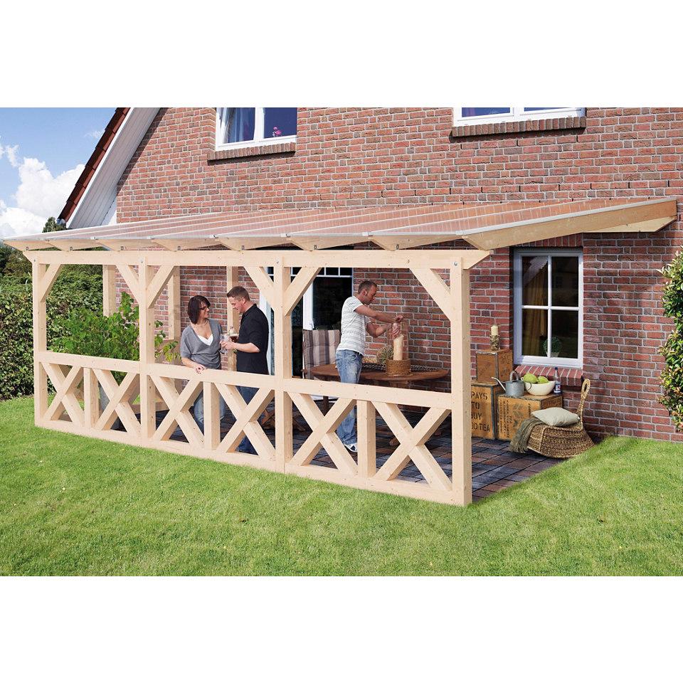 Terrassenuberdachung Holz Hagebau Kreative Ideen für Ihr Zuhause