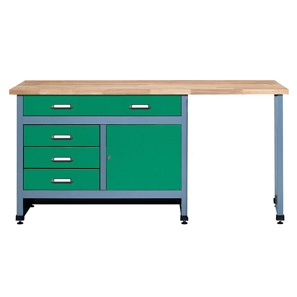 werkbank 170cm k pper von kuepper in blau pictures to pin on pinterest. Black Bedroom Furniture Sets. Home Design Ideas