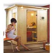 Systemsauna &raquo;Bodin&laquo;, 68 mm Wandst&auml;rke