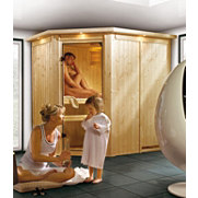 Systemsauna &raquo;Carin&laquo;, 68 mm Wandst&auml;rke