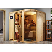 Systemsauna &raquo;Parima 2&laquo;, 68 mm Wandst&auml;rke