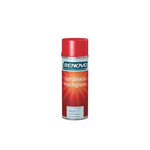 Sprhlack Hochglanz feuerrot, 400ml