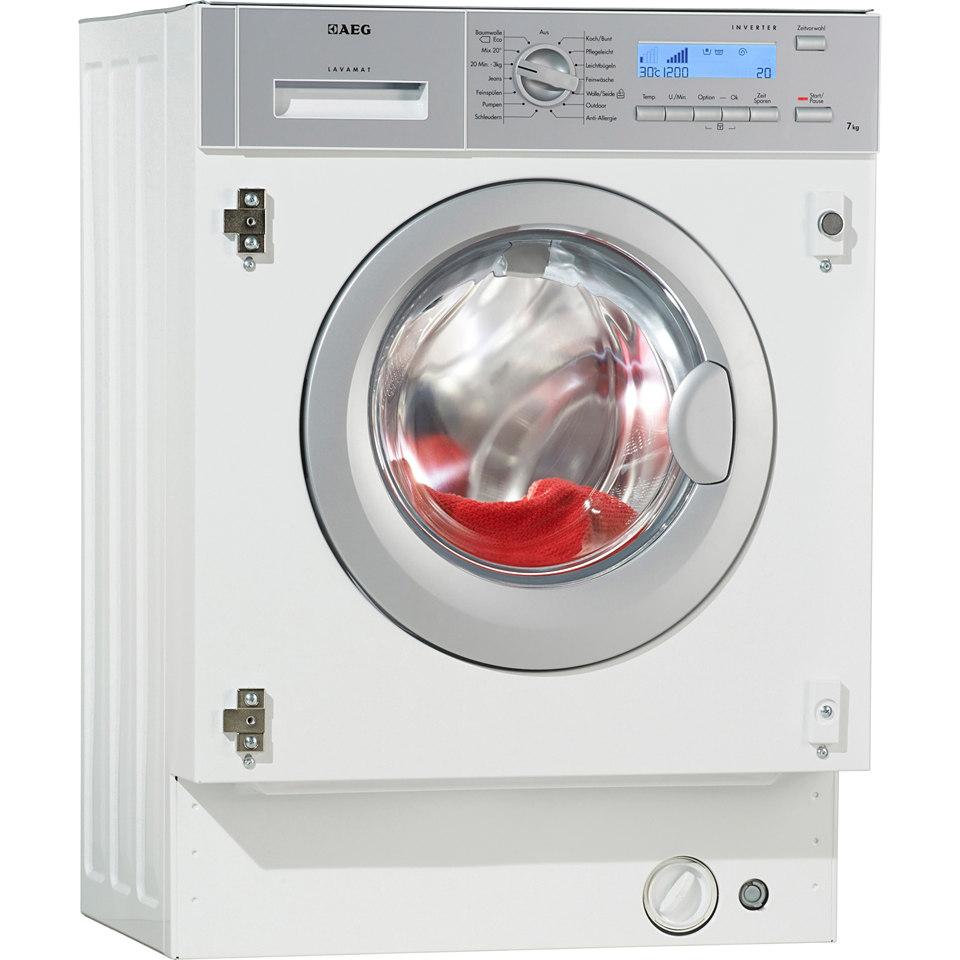 AEG Waschmaschine L82470BI, A+++, 7 kg, 1400 U/Min
