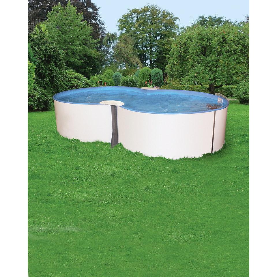 Achtformbecken »Premium«, 135 cm hoch, 24 m³