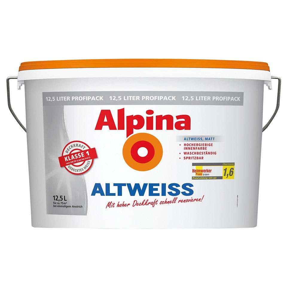 Alpina »Altweiss«, 12,5 l