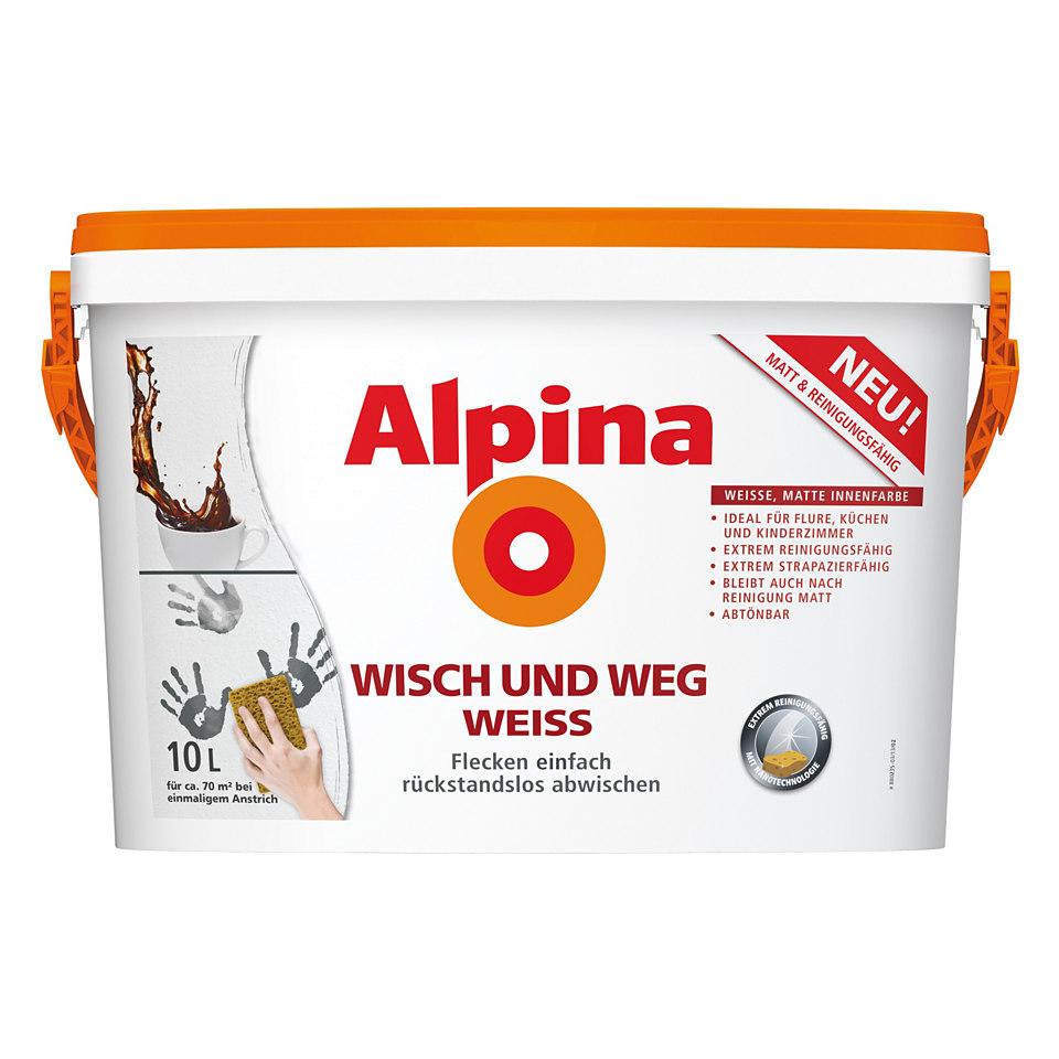 Alpina »Wisch und Weg Weiss«