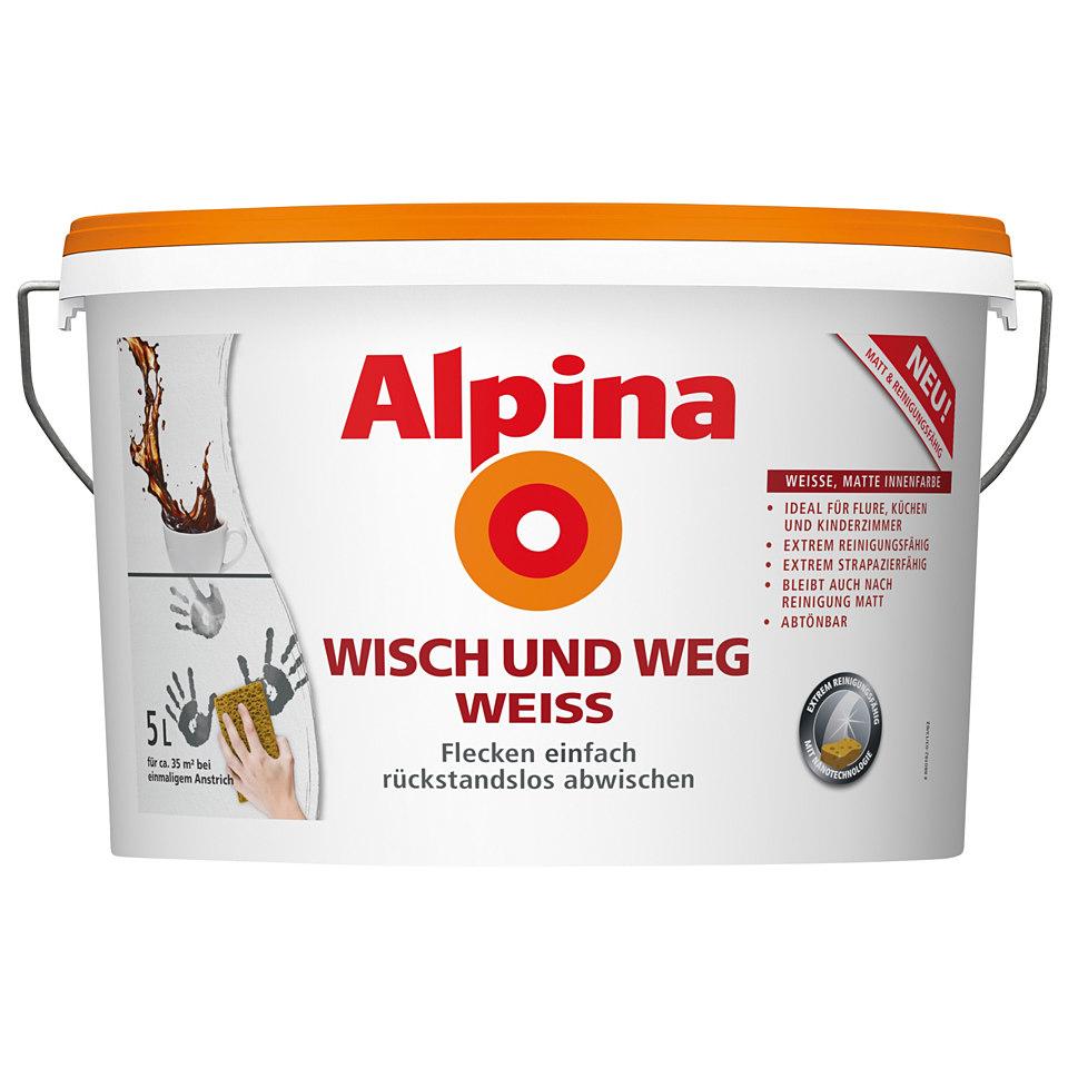 Alpina �Wisch und Weg Weiss�
