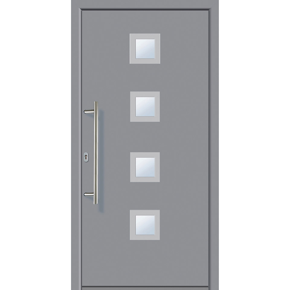 Alu-Haust�r �A5�, grau