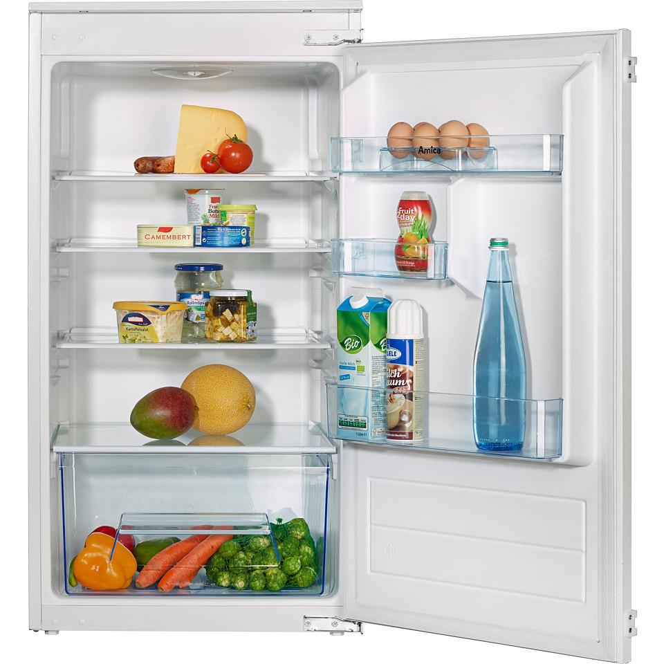 Amica integrierbarer Einbau-Vollraum-Kühlschrank EVKS 16404, A+, 102 cm