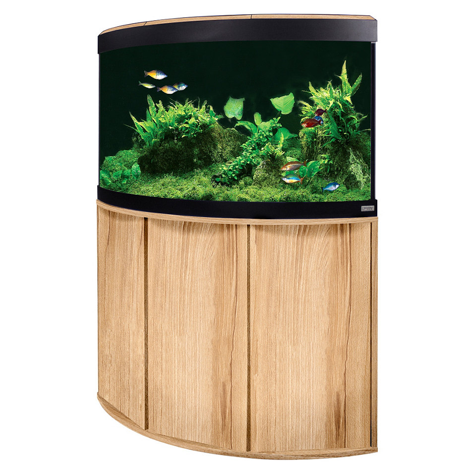 Aquarium Set �Venezia� in Kernbuche