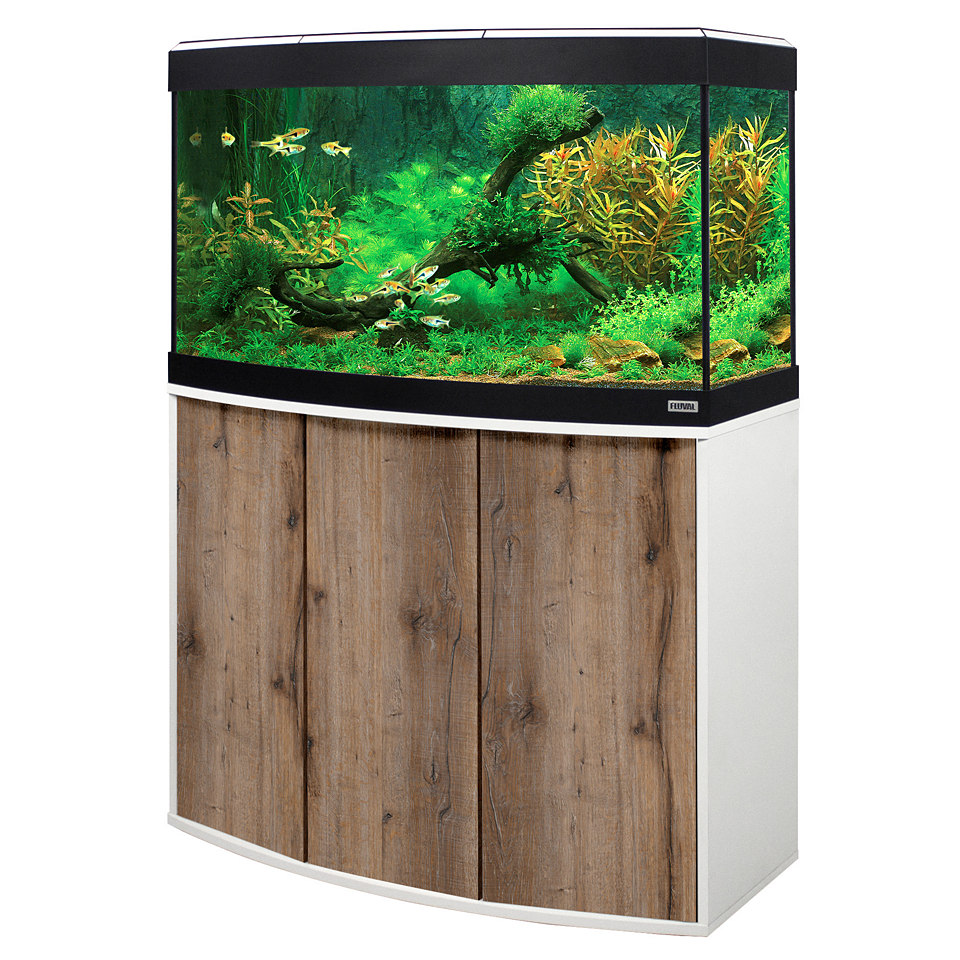 Aquarium Set �Vicenza� in Eiche/wei�