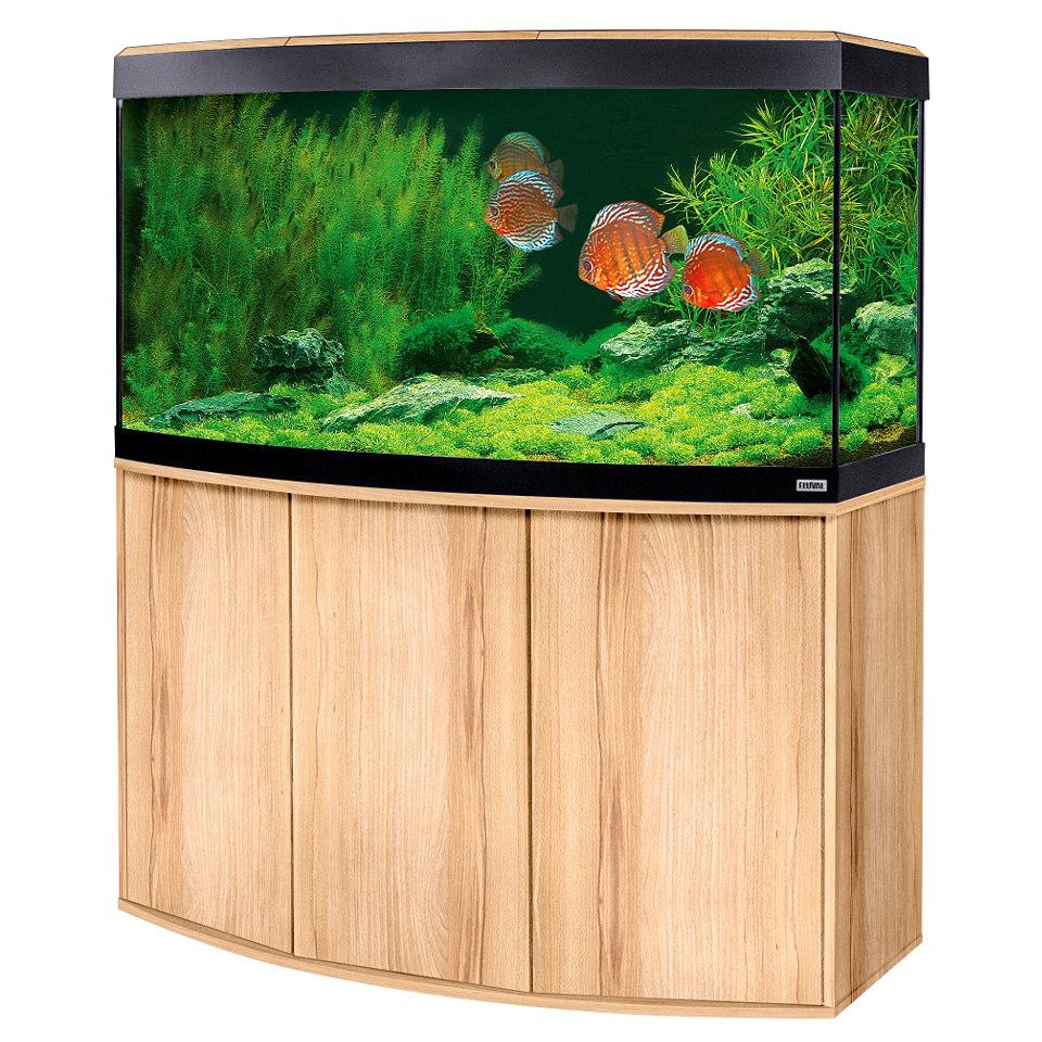 Aquarium Set »Vicenza« in Kernbuche
