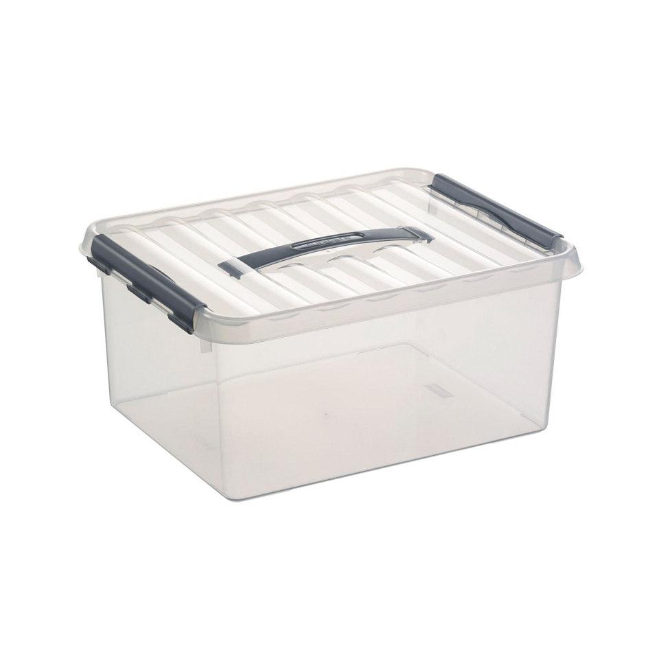 Aufbewahrungsboxen, 6 x 15 Liter