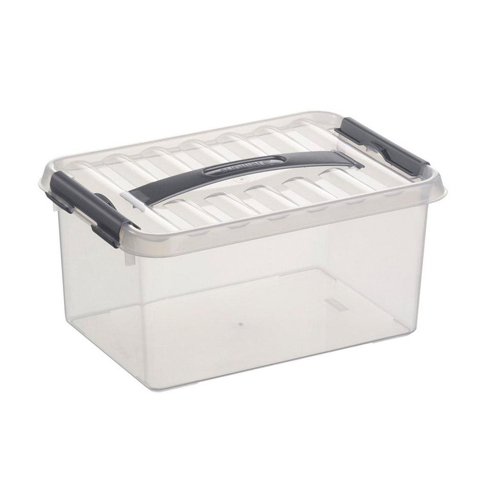 Aufbewahrungsboxen, 6 x 6 Liter