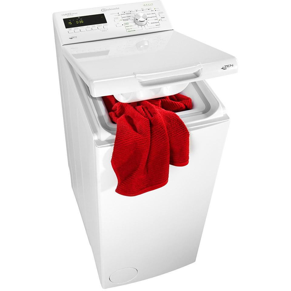 BAUKNECHT Waschmaschine Toplader WAT 612 Di, A++, 6 kg, 1200 U/Min