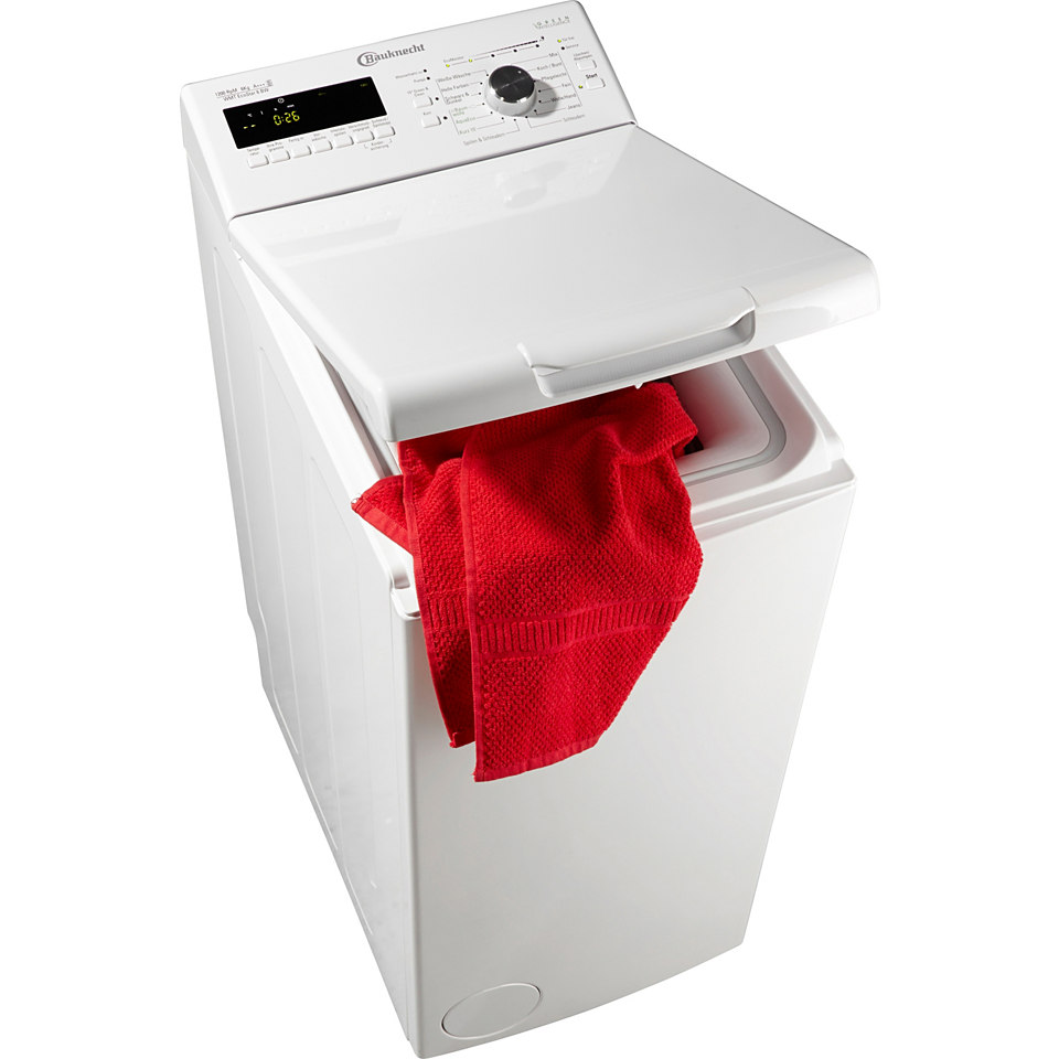 BAUKNECHT Waschmaschine Toplader WMT EcoStar 6 BW, A+++, 6 kg, 1200 U/Min