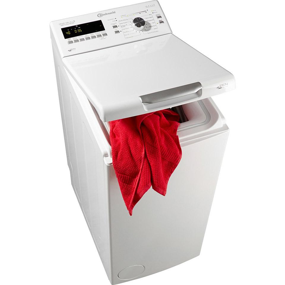 BAUKNECHT Waschmaschine Toplader WMT EcoStar 65Z BW, A+++, 6,5 kg, 1200 U/Min
