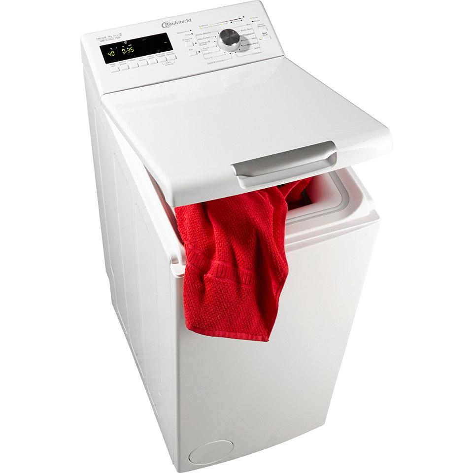 BAUKNECHT Waschmaschine Toplader WMT EcoStar 7 BW, A+++, 7 kg, 1200 U/Min