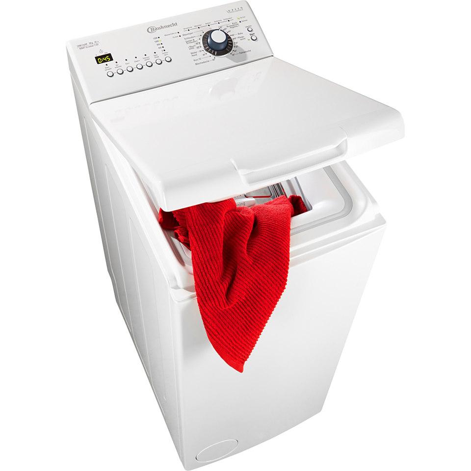 BAUKNECHT Waschmaschine Toplader WMT Ecostar 7 DI, A++, 7 kg, 1200 U/Min