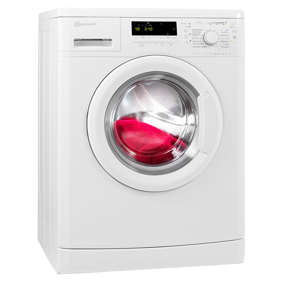 BAUKNECHT Waschmaschine WA Eco Star 76 PS, A+++, 7 kg, 1600 U/Min