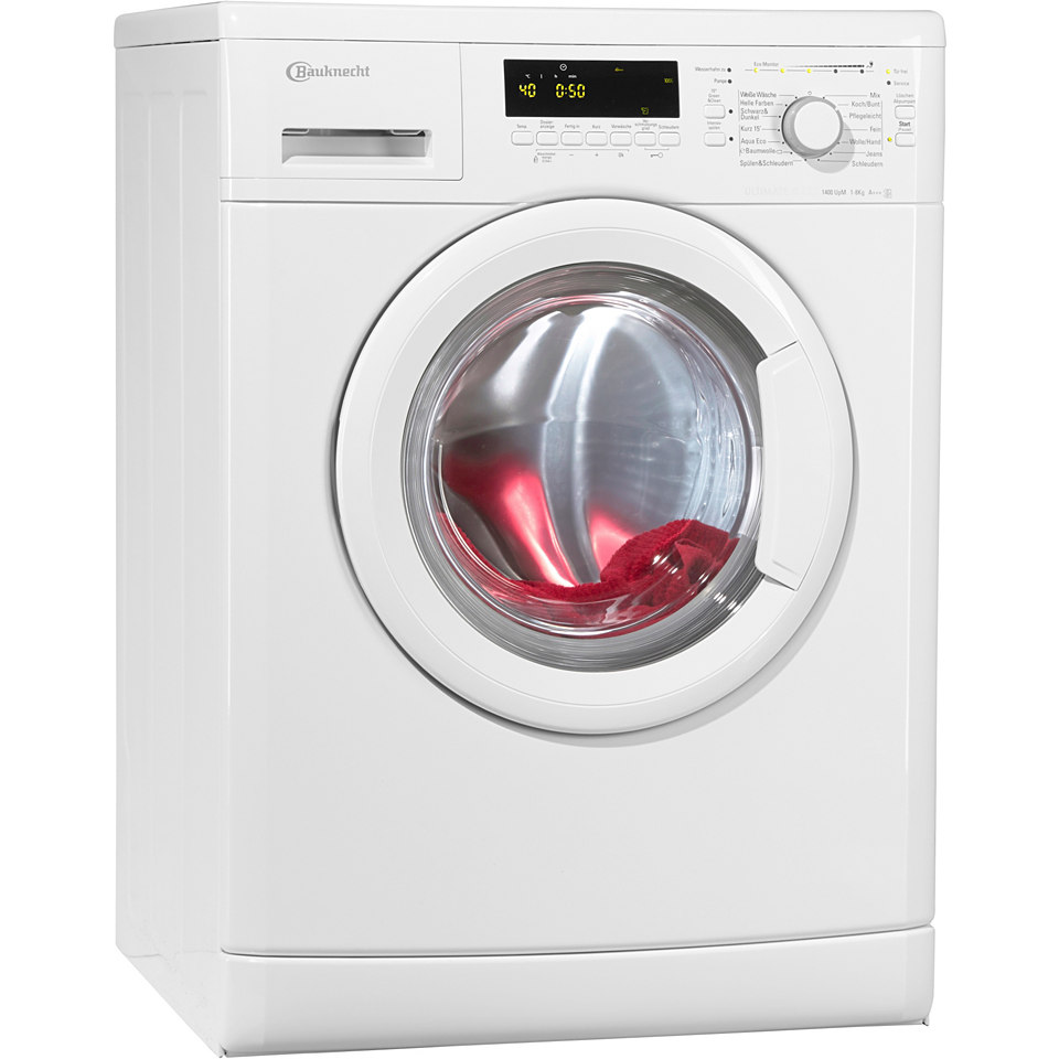 BAUKNECHT Waschmaschine WA Eco Star 84 PS, A+++, 8 kg, 1400 U/Min