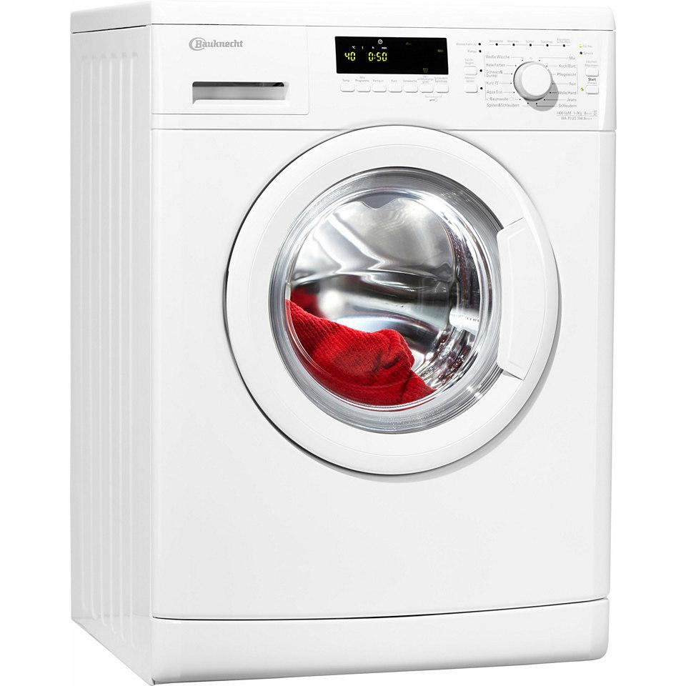 BAUKNECHT Waschmaschine WA PLUS 744 A+++, A+++, 7 kg, 1400 U/Min