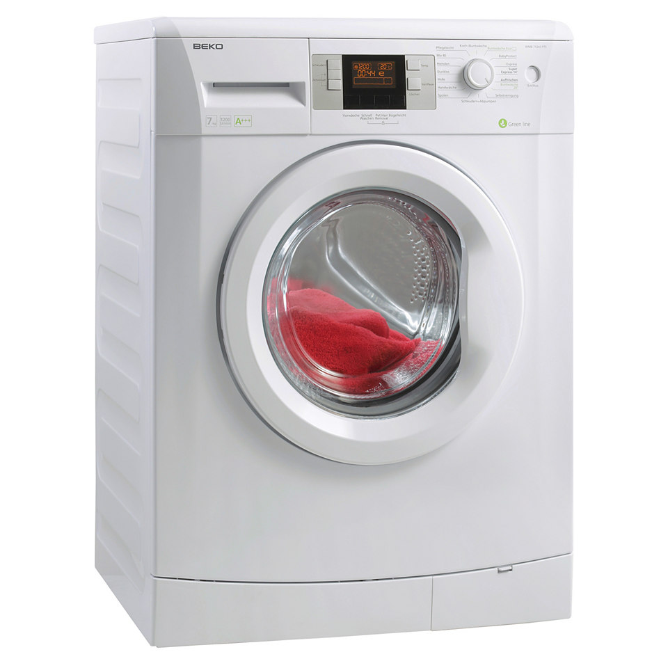 BEKO Waschmaschine WMB 71243 PTE, A+++, 7 kg, 1200 U/Min