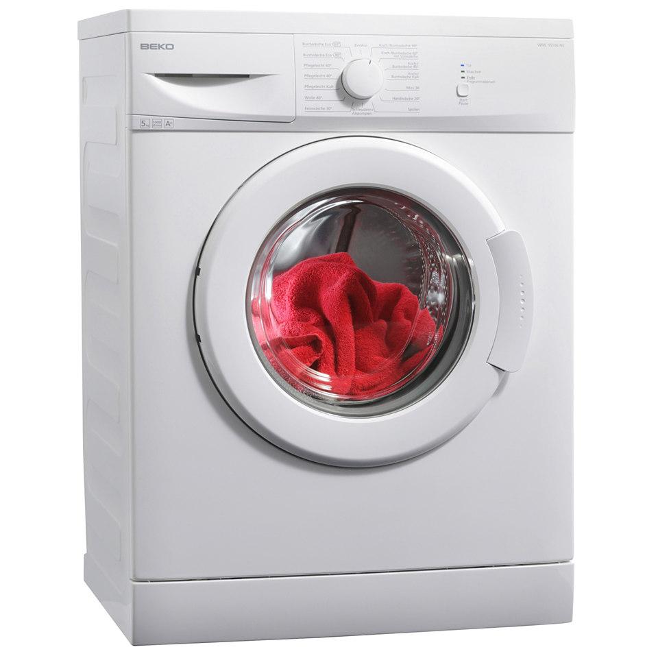 BEKO Waschmaschine WML 15106 NE, A+, 5 kg, 1000 U/Min