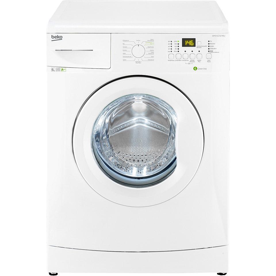 BEKO Waschmaschine WMO 61232 MEU, A++, 6 kg, 1200 U/Min
