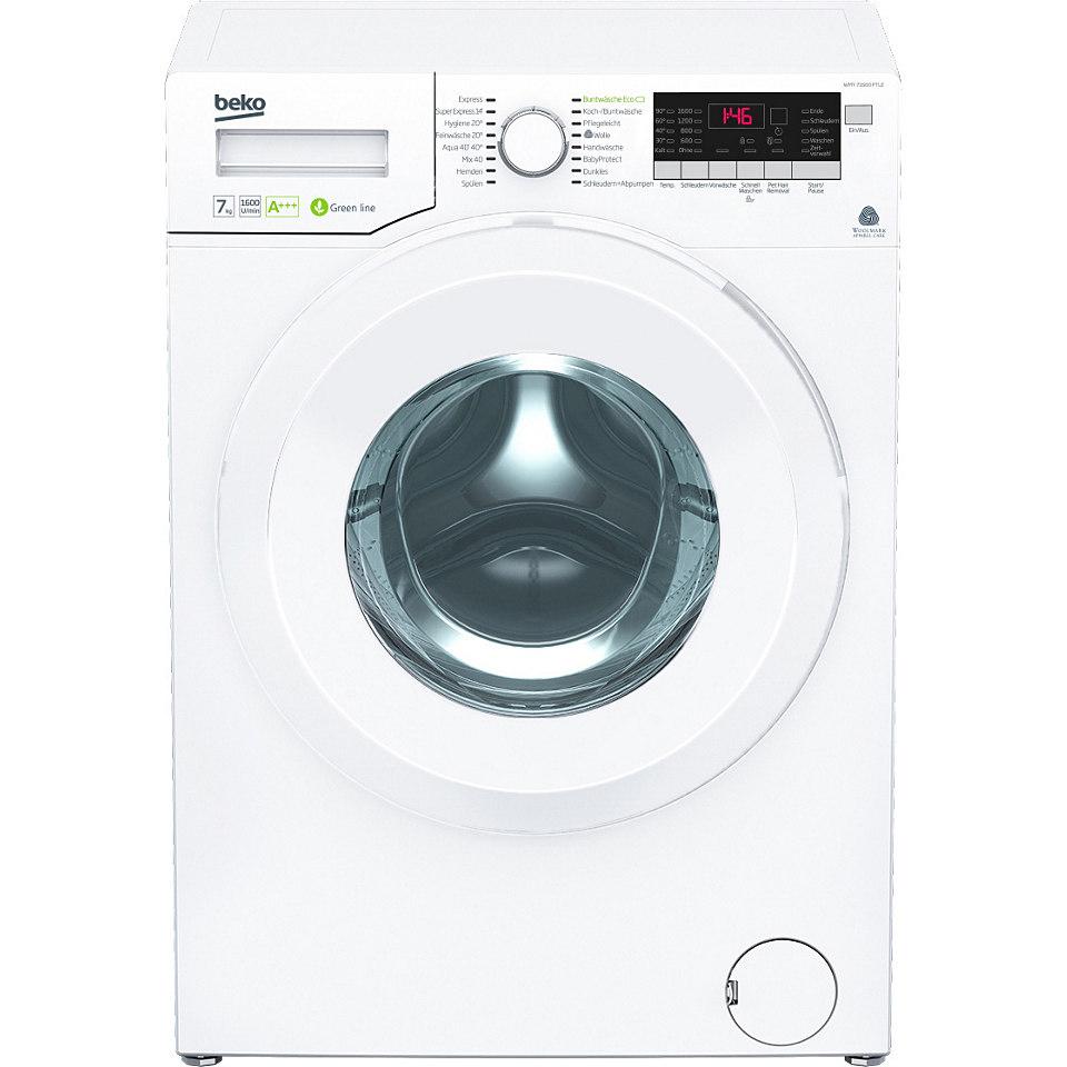 BEKO Waschmaschine WMY 71683 PTLE, A+++, 7 kg, 1600 U/Min