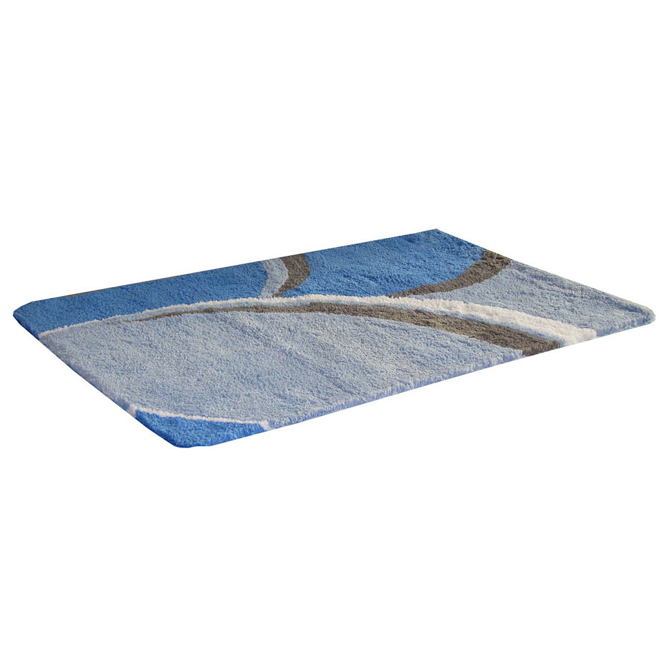 Badematte »Genappe«, Höhe ca. 20mm, Microfaser, rutschhemmender Rücken, Kinzler