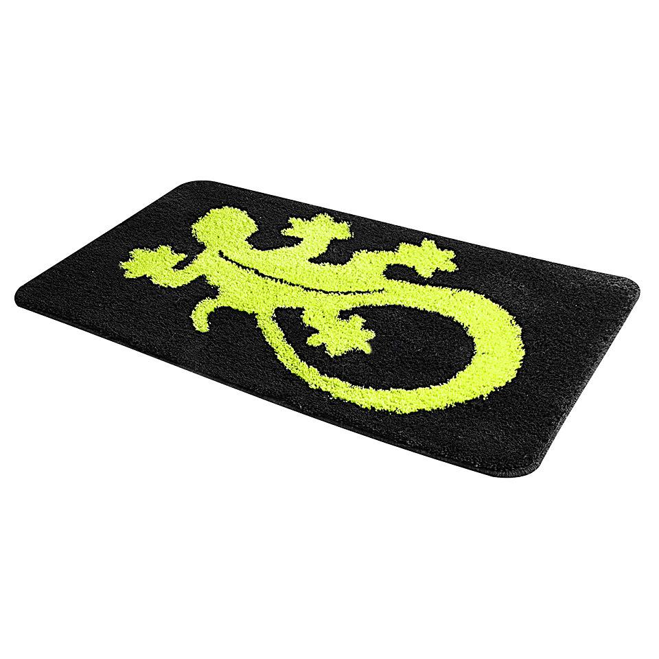 Badematte, my home, »Gecko«, Höhe ca. 20mm, rutschhemmender Rücken