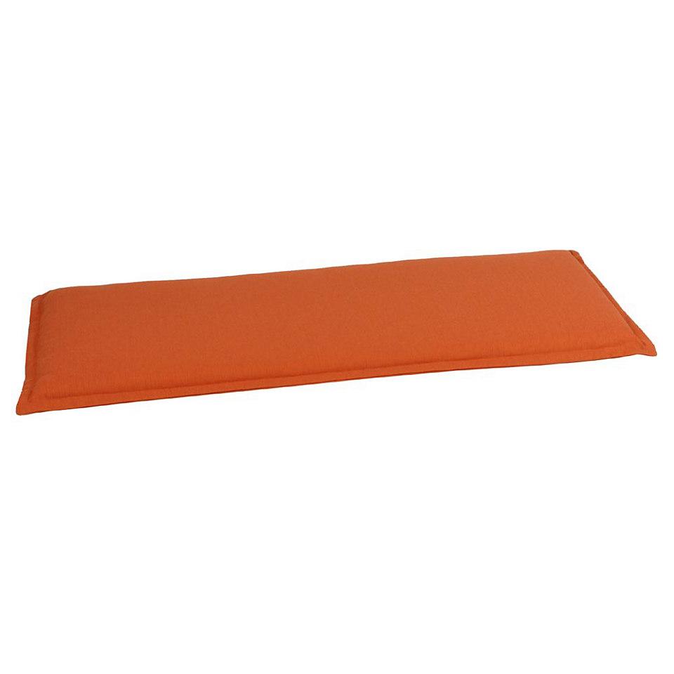 Bankauflage »Uni orange«