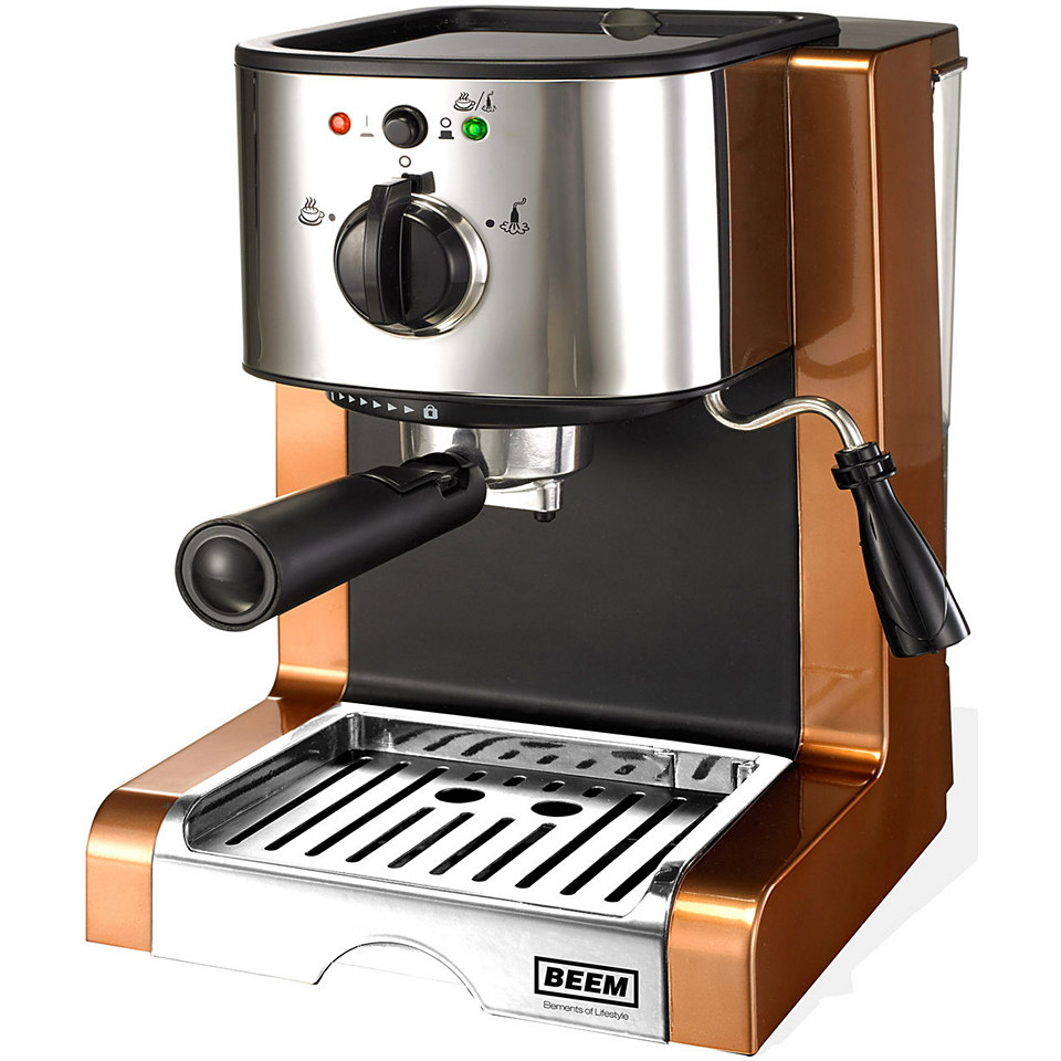 Beem Espressomaschine D2000.624 Espresso Perfect Crema Plus, Copper Style