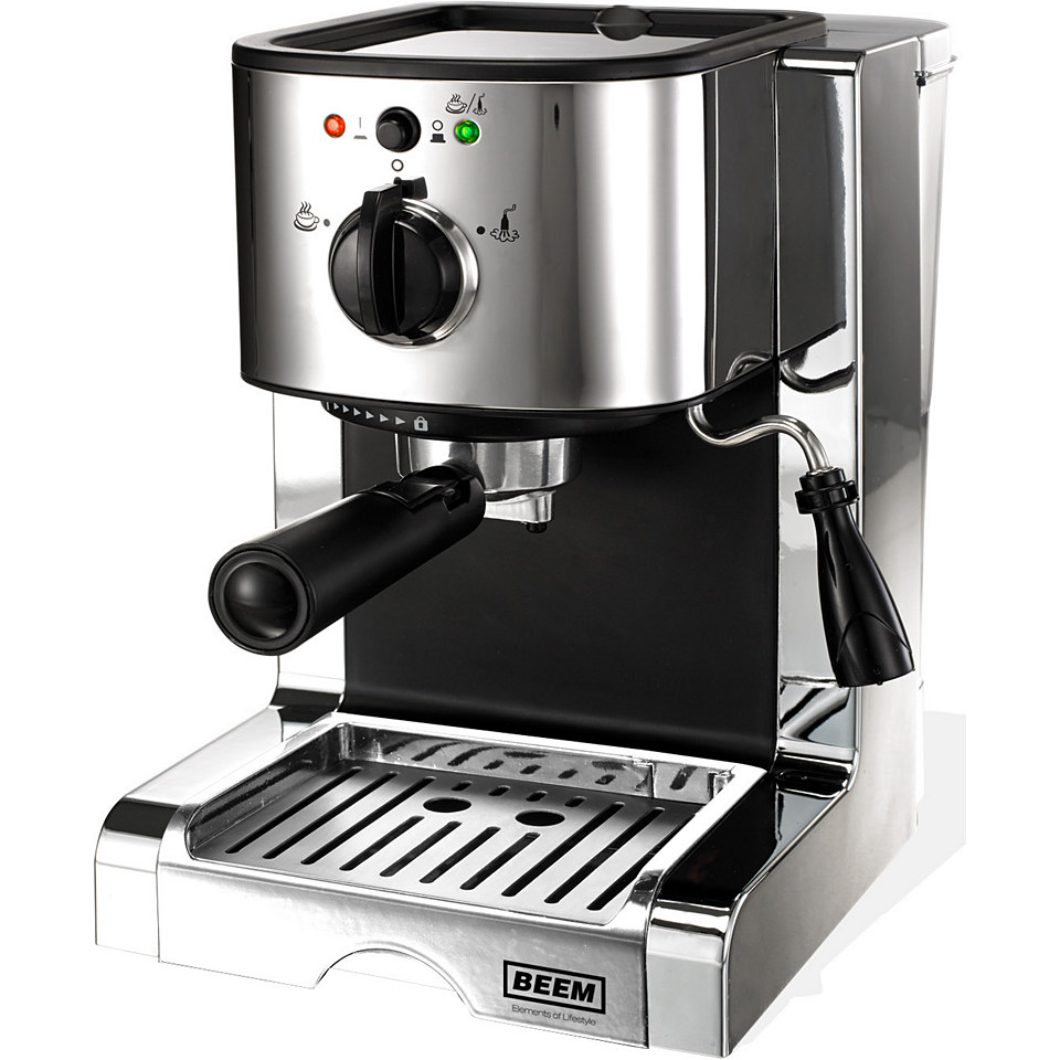 Beem Espressomaschine Espresso Perfect Crema Plus D2000.626, 15 Bar
