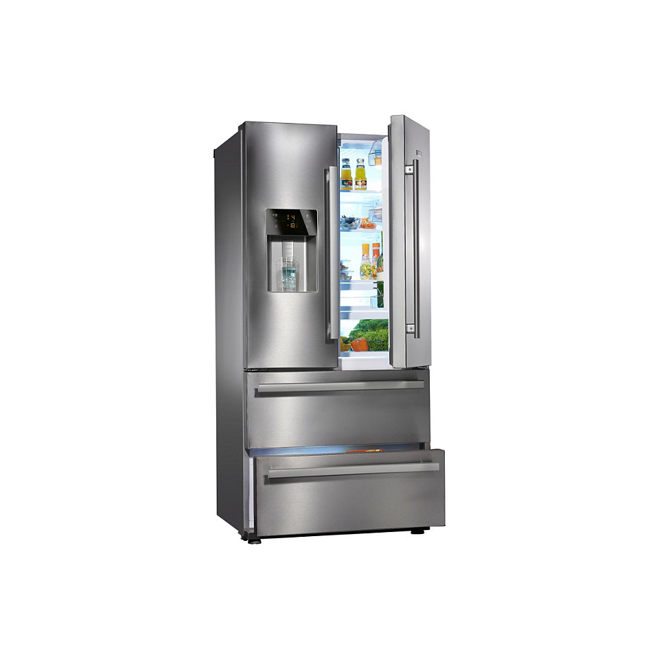 Beko Side by Side / French Door GNE 60520 DX, A+, 182,5 cm, NoFrost