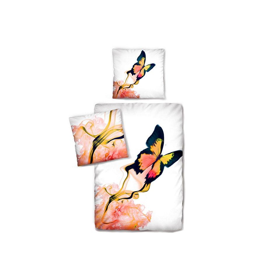 Bettw�sche, Auro. Hometextile, �Schmetterling�