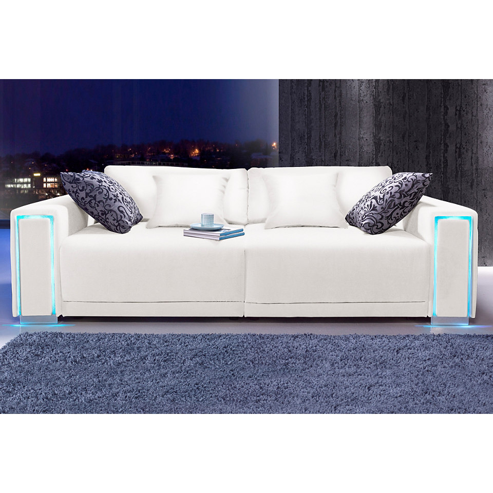 Big-Sofa, Gr��e L - XXL, inklusive LED-RGB Beleuchtung