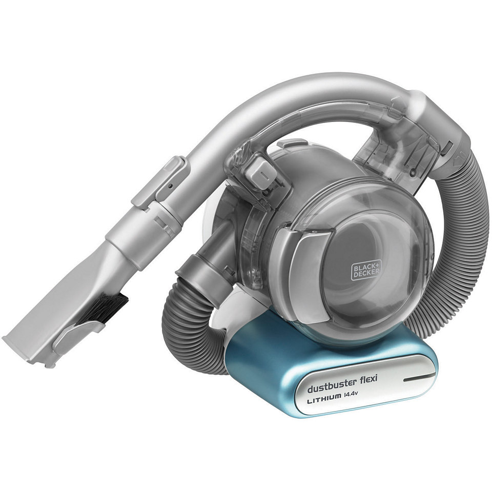 Black + Decker Akku- Handstaubsauger FLEXI PD1420LP, beutellos