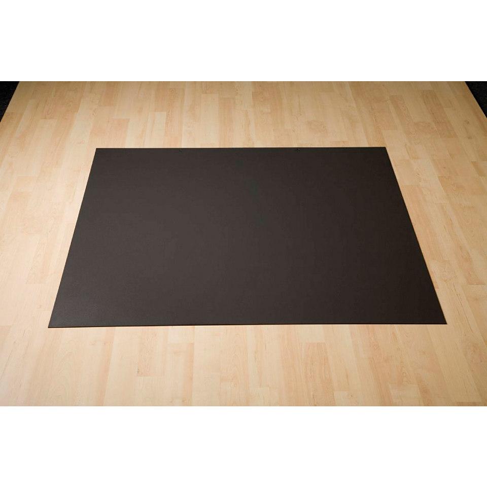Bodenplatte aus Stahl, rechteckig