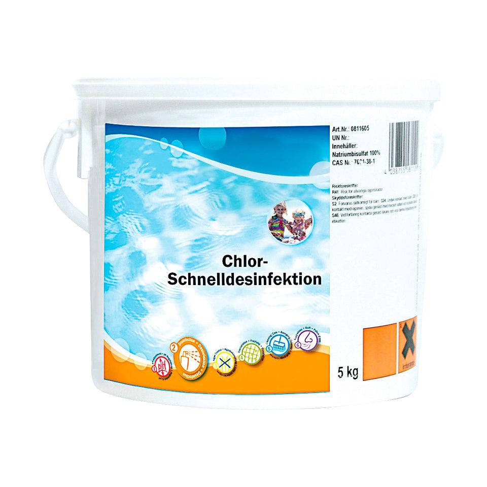 Chlor-Schnelldesinfektion Granulat