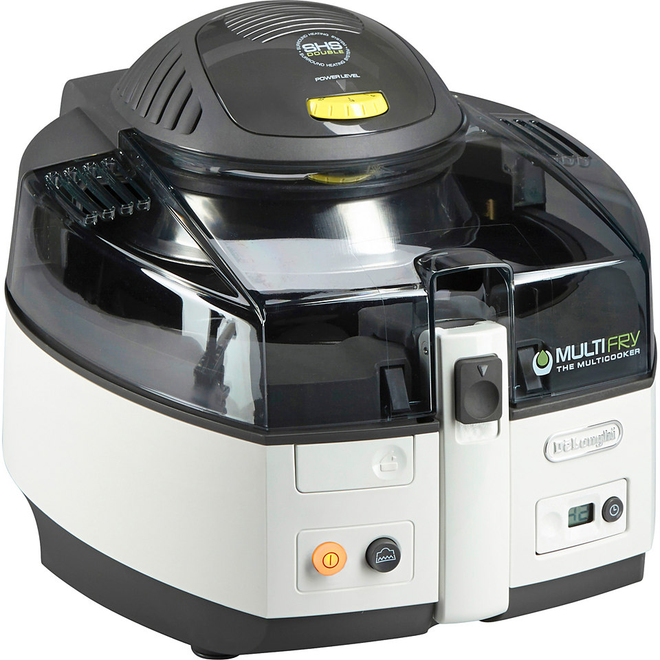 DeLonghi Heißluftfritteuse & Multikocher MultiFry CLASSIC FH1163, 1400 Watt, 1,5 Liter, weiß