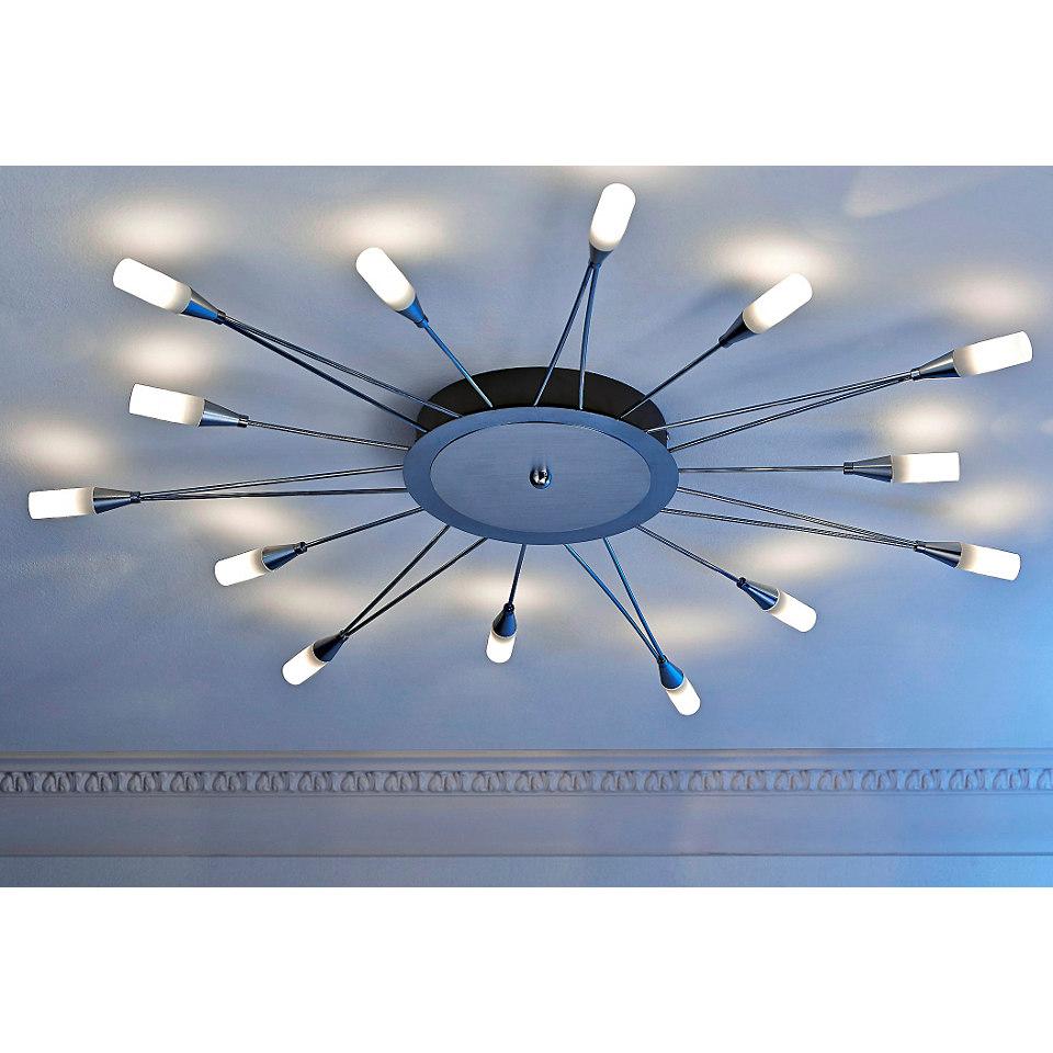 Deckenleuchte, Trio. Inkl. LED´s der EEK A. Die LED-Lampen können nicht getauscht werden.