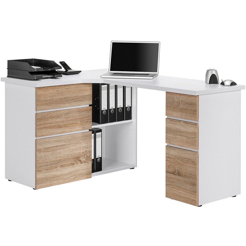 Eck-Schreibtisch, Maja M�bel, �Z�rich�