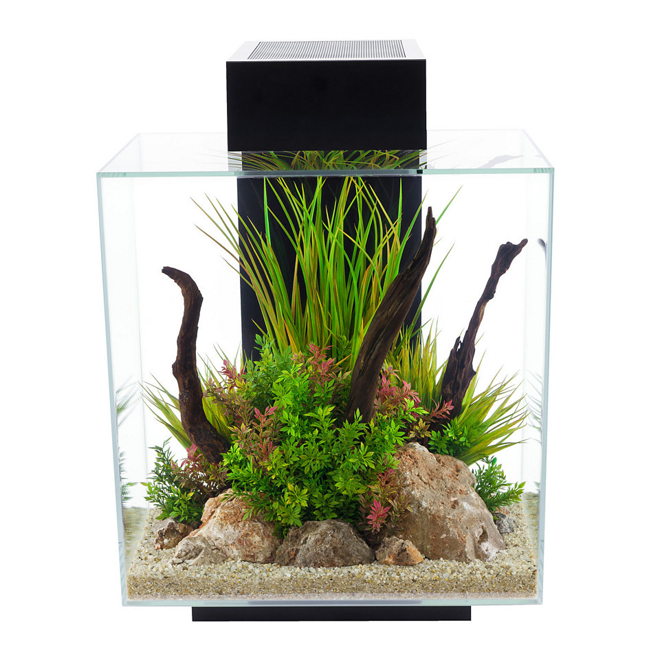 �Edge II� Aquarium, schwarz