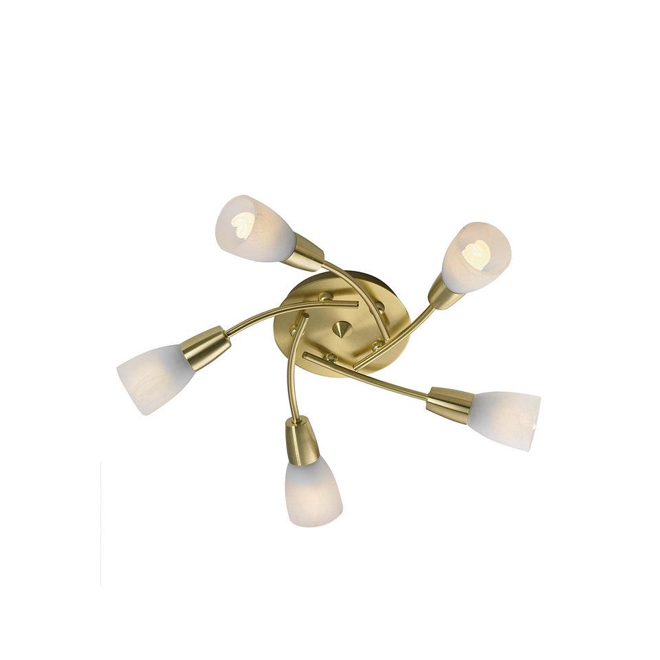 Energiespar-Deckenlampe, Leuchten Direkt (5flg.)