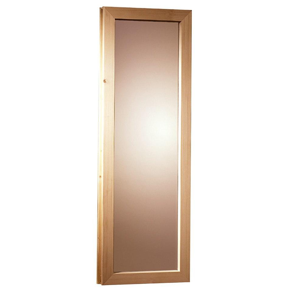 Fenster f�r 40 mm Saunen, B 42 x H 122 cm