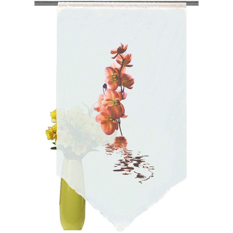 Fensterbehang, Home Wohnideen, »Orchidee« (1 Stück)