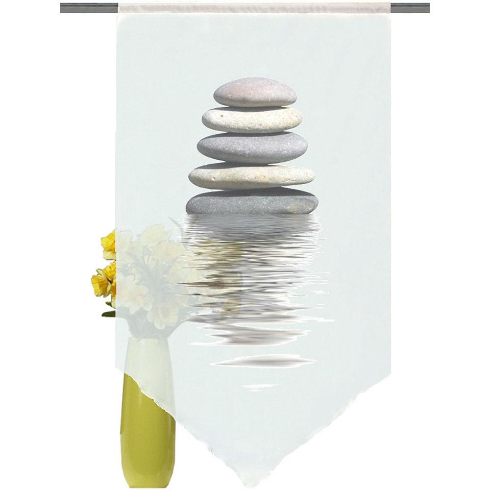 Fensterbehang, Home Wohnideen, »Steine« (1 Stück)