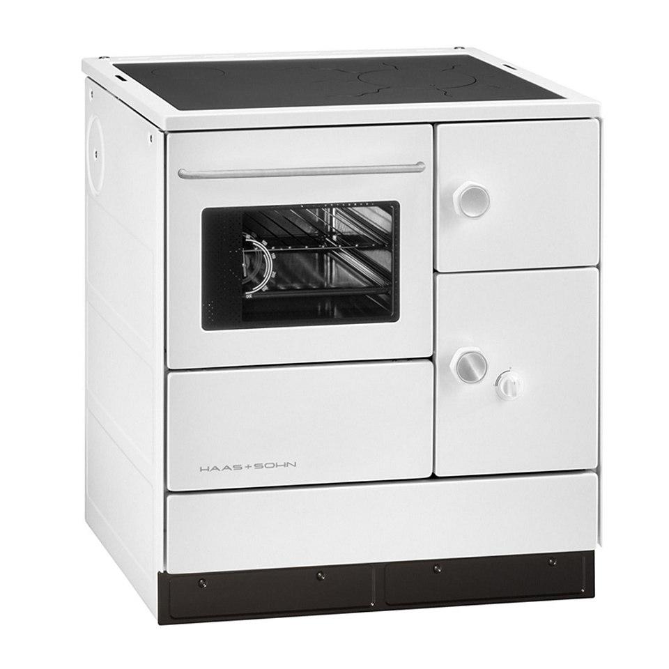 Festbrennstoffherd »HA 75.5-A, 7,5 kW, Dauerbrand, Backofen, Herdplatte«